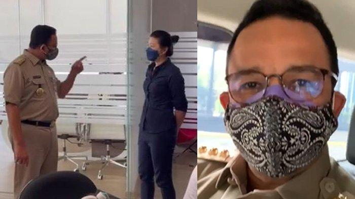 Tindak Kantor Pelanggar PPKM Darurat, Anies Geram Ibu Hamil Dipaksa WFO : Pelanggaran Kemanusiaan