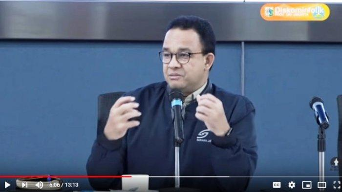 Sempat Ada Penumpukan Penumpang di Jakarta, Anies Baswedan : Tujuannya Mengirim Pesan Kejut