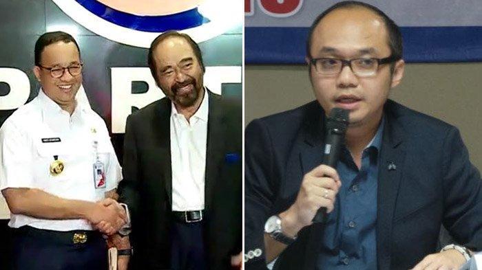 Surya Paloh Dukung Anies Jadi Capres 2024, Yunarto Wijaya: Simbol Perlawanan Nasdem Menolak Gerindra