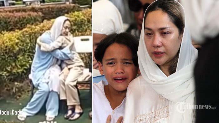 Noah Peluk Erat Mami Beberapa Detik, Tangisan BCL Kembali Pecah di Depan Pusara Ashraf Sinclair