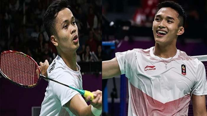 Jadwal Fuzhou China Open 2018 - Duel Jonatan Christie Vs Anthony Ginting, All Indonesian Siang Ini