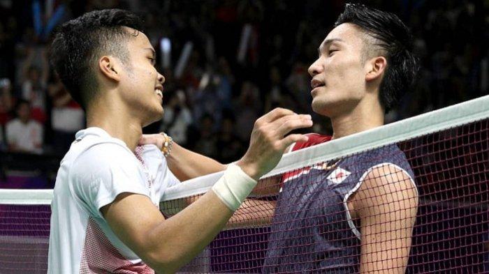 Jadwal Final BWF World Tour Finals 2019: Ginting vs Kento Momota Mulai Pukul 13.00 WIB di TVRI