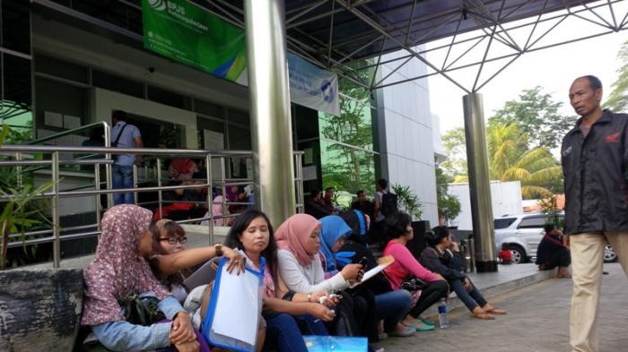 Pencairan Dana Jht Menumpuk Bpjs Mending Gunakan Layanan Online Saja Tribunnews Bogor