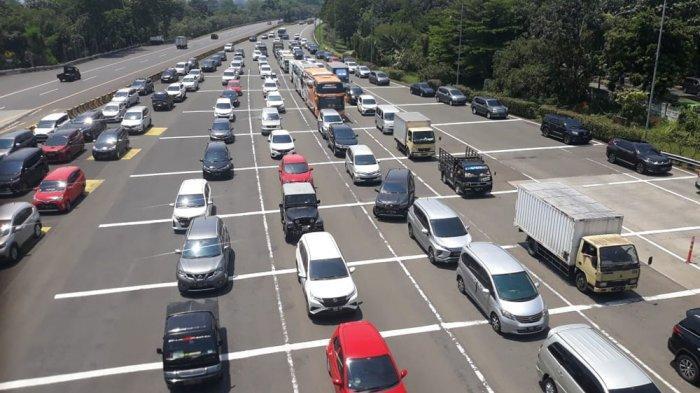 Jalur Puncak Ganjil Genap, Ribuan Kendaraan Padati Kota Bogor, Begini Kondisi Gerbang Tol