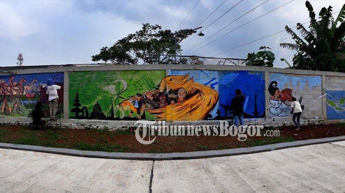 April Fest Mural Competition - Padi Emas Sentul Ajak Seniman Berkreasi Tentang Budaya Nusantara