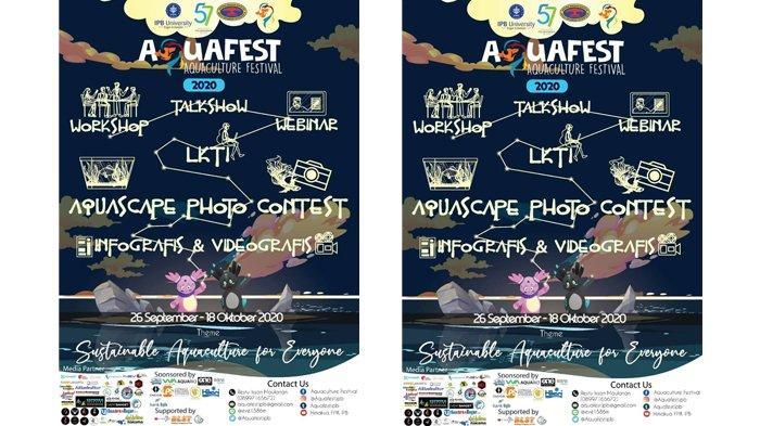 Aquafest 2020 Ada Lomba Karya Tulis Ilmiah Hingga Aquascape Photo Contest Tribunnews Bogor