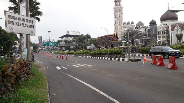 Jalur Puncak Bogor Diberlakukan Satu Arah Siang Ini, Begini Kondisinya