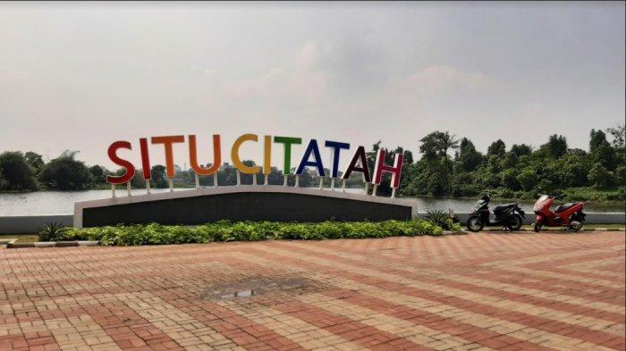 Menengok Kawasan Situ Citatah Cibinong Bogor, Warga Bisa Wisata Sambil Mancing