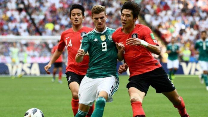 Korea Selatan Vs Jerman - Kebobolan 2 Gol, Tim Panser Terpaksa Angkat Koper, Korsel Tetap Hengkang