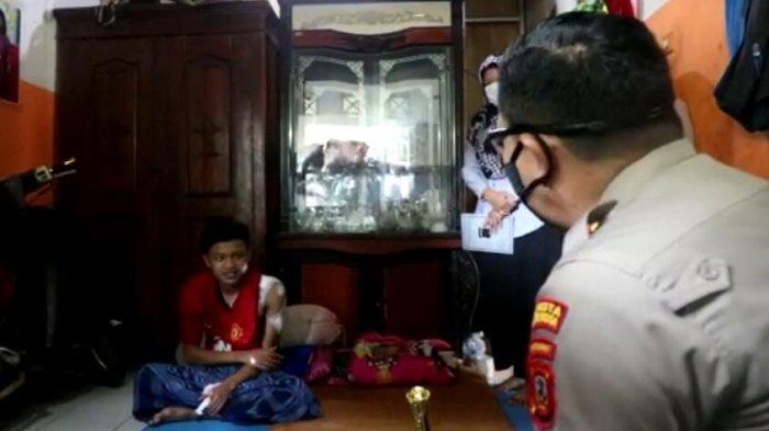 Pemuda di Bogor Terluka Usai Duel Dengan Maling yang Masuk ke Rumahnya, Pelaku Berhasil Ditangkap