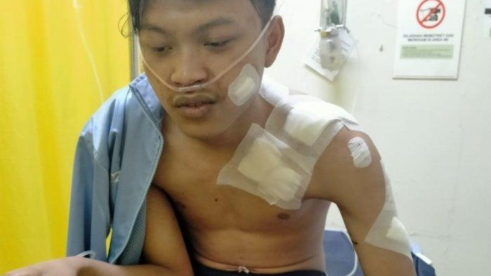Cerita Arif Duel Dengan Maling yang Masuk ke Rumahnya, Luka 55 Jahitan: Dia Langsung Nyerang