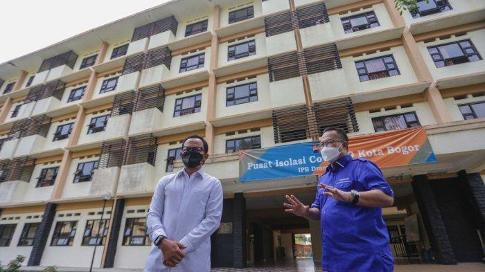 Bima Arya dan Rektor IPB Tinjau Pusat Isolasi Asrama Mahasiswa Dramaga