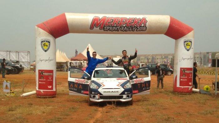 Perally Asal Kota Bogor Jadi Yang Tercepat Di Kejurnas 3 Rally Kelas F1 1200 CC