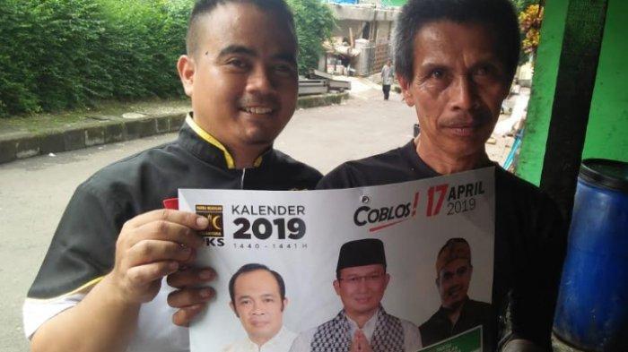 Jalan Kaki Sambil Bersholawat, Caleg PKS Ini Sambangi Rumah Warga Jualan Program