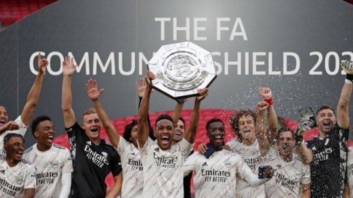 Permalukan Liverpool Lewat Adu Penalti, Arsenal Juara Community Shield ke-16 Kalinya