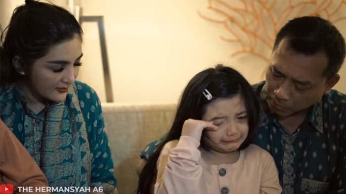 Tangis Pilu Arsy Dengar Kabar Aurel Keguguran, Putri Anang Hermansyah Paksa Orangtuanya Lakukan Ini