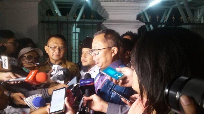 Tak Bicara Soal Kabinet, Jokowi Cerita Pengalaman Kampanye Saat Bertemu TKN dan TKD
