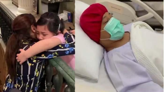 Arsy Menjerit Lihat Kondisi Anang di Ranjang RS, Ashanty Tahan Tangis Peluk Anak : Harus Kuat
