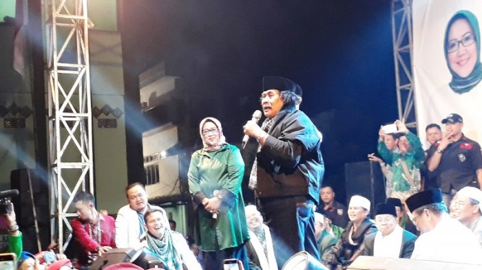 Petuah Jaja Miharja Kepada Pasangan Cabup Ade Yasin-Iwan Setiawan, 'Awas Kalau Bo'ong Kualat'