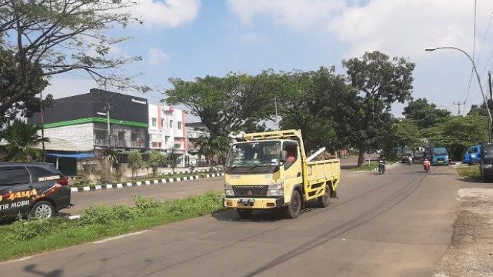 Siang Ini Jalan Baru Bojonggede Bogor Terpantau Lancar Menuju Cibinong