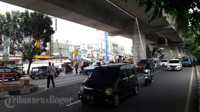 Lalu Lintas di Jalan KH Sholeh Iskandar Saat Ini Lancar di Kedua Arah