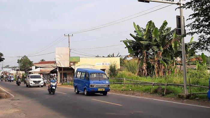 Pagi Ini Jalan Raya Ciampea Bogor Lancar di Kedua Arah