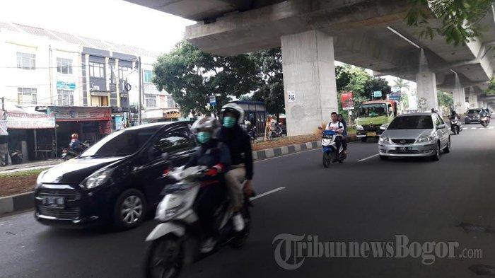 Arus Lalu Lintas di Jalan Sholeh Iskandar Pagi Ini Terpantau Ramai Lancar