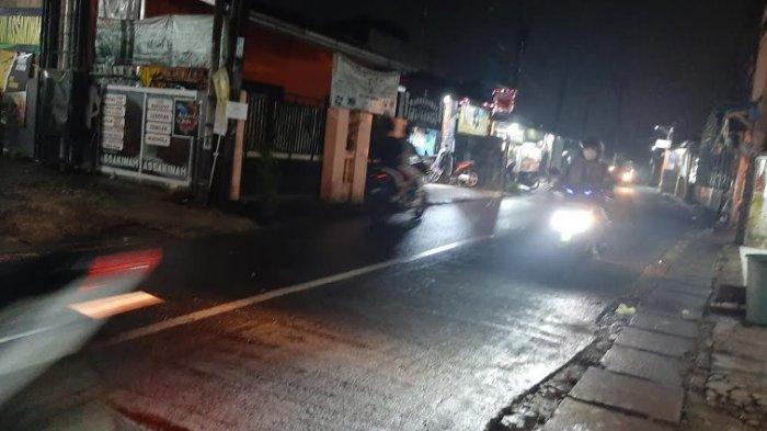 Malam Ini Jalan Raya Pitara Depok Menuju Bojonggede Bogor Lancar Kedua Arah