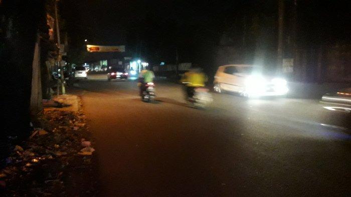 Info Lalu Lintas - Jalan Karadenan Cibinong Malam Ini Ramai Lancar