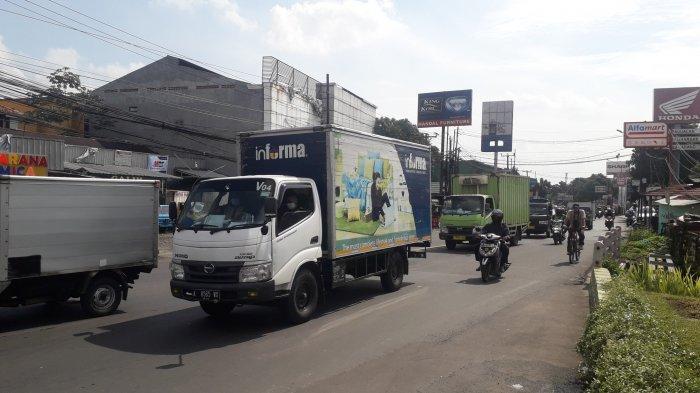 Arus Lalu Lintas di Jalan KS Tubun Kota Bogor Saat Ini Terpantau Ramai Lancar, Cuaca Cerah