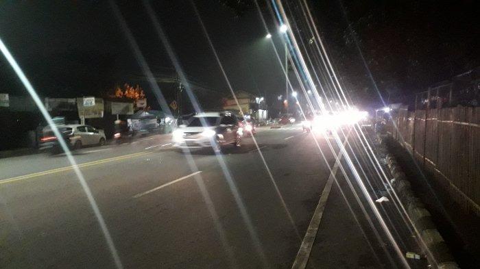 Lalu Lintas di Jalan Raya Jakarta - Bogor Malam Ini Ramai Lancar