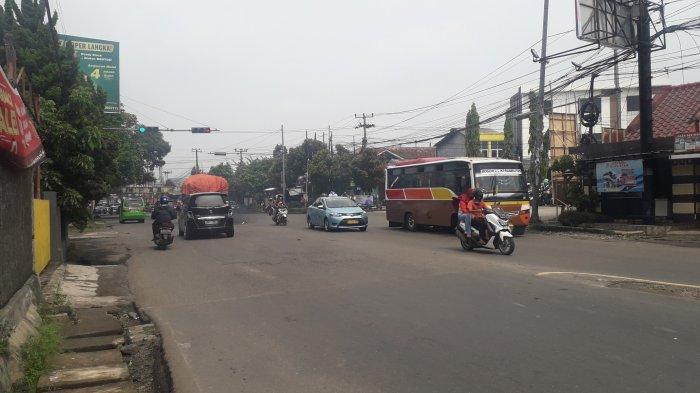 Lalu Lintas Kendaraan di Simpang Talang Kota Bogor Saat Ini Ramai Lancar, Cuaca Cerah