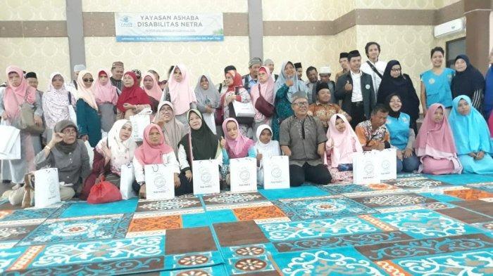 Peringatan Maulid Nabi Yayasan Ashaba Disabilitas Netra, Penyandang Tuna Netra Tampilkan Marawis