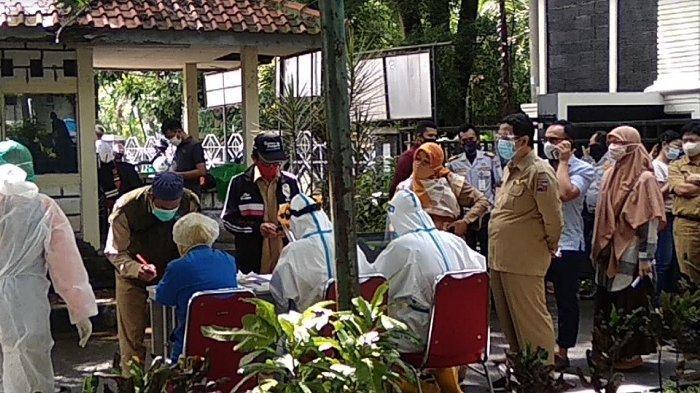 BREAKING NEWS: Hari Pertama Paca Libur Panjang, ASN Kota Bogor Jalani Swab Test Massal
