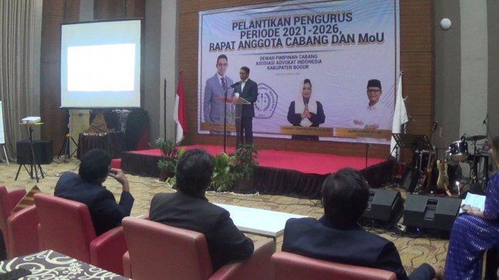 Pimpin AAI Kabupaten Bogor, Sondang Tampubolon Galakan Satu Desa Satu Lawyer
