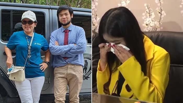 Sempat Dituding Pansos, Tangis Ayu Thalia Pecah Dilaporkan Balik Nicholas Sean, Adik Ahok Bereaksi