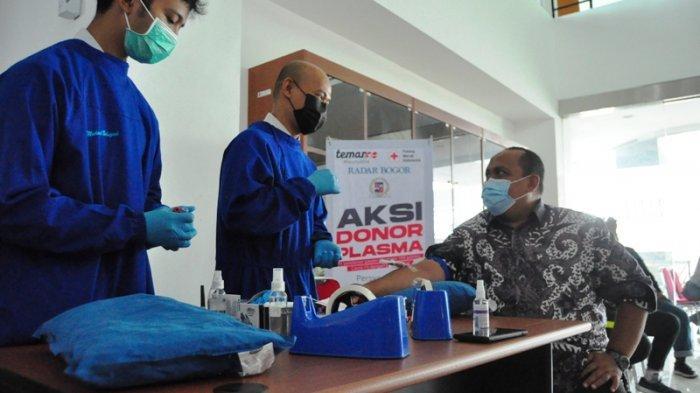Ikut Aksi Donor Plasma, Ketua DPRD Kota Bogor Jalani Screening Donor Plasma