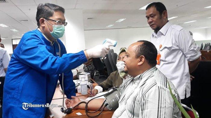 Antisipasi Virus Corona, Anggota DPRD Kota Bogor Jalani Tes Kesehatan Setelah Kunjungan Kerja