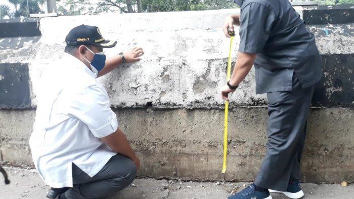 6 Hari Lalu Dicek Petugas PUPR, Jalan Amblas di Sholis Bogor Belum Ada Penanganan
