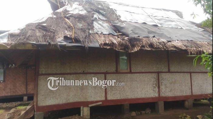 Berharap Bantuan Pemerintah, Bangunan di Kampung Budaya Sindang Barang Bogor Banyak yang Rusak