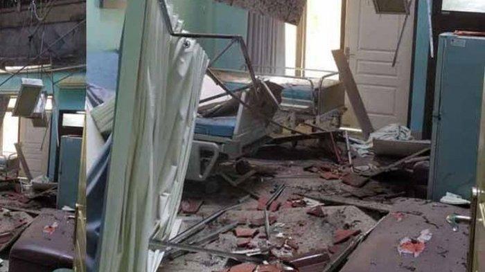 Video Selfie Anak Perempuan Rekam Gempa di Malang, Ibu Panik - Kulkas dan Dispenser Goyang