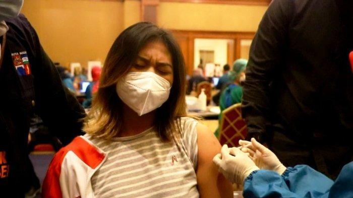 Wartawan dan Atlet di Kota Bogor Jalani Vaksinasi Covid-19