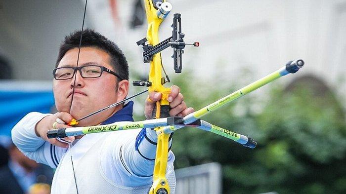 Raih Medali Emas, Atlet Panah Asal Korea Selatan Ini Tolak Selebrasi Kibarkan Bendera