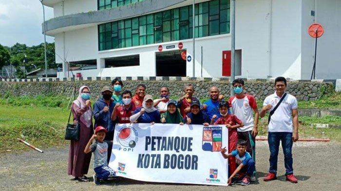 Perdana Ikut Kompetisi, 10 Atlet Petanque Kota Bogor Dikirim Ikut Turnamen di Bekasi