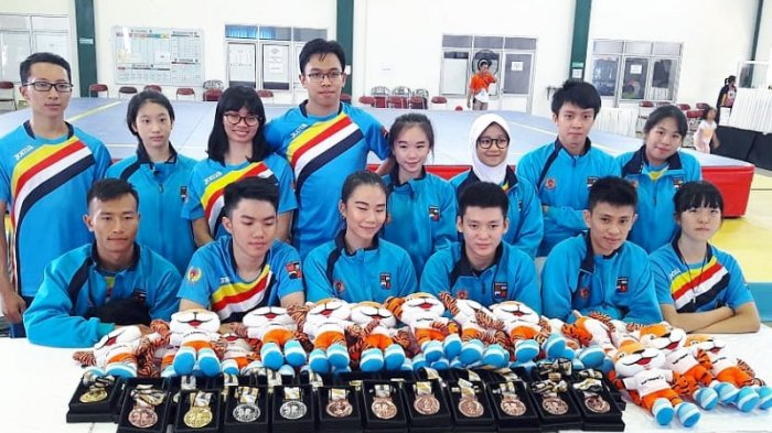 Wushu Kota Bogor Sabet 7 Medali Emas di Porda Jabar 2018