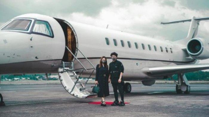 Atta Halilintar Berangkat Honeymoon Pakai Jet Pribadi, Aurel Bakal Ketemu Mertua di Malaysia ?