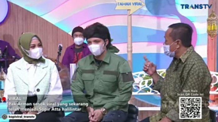 Baru Jadi Sopir, Pak Arman Beri Nasihat Menohok ke Atta Aurel soal Pernikahan, Melaney: Rasain Lu