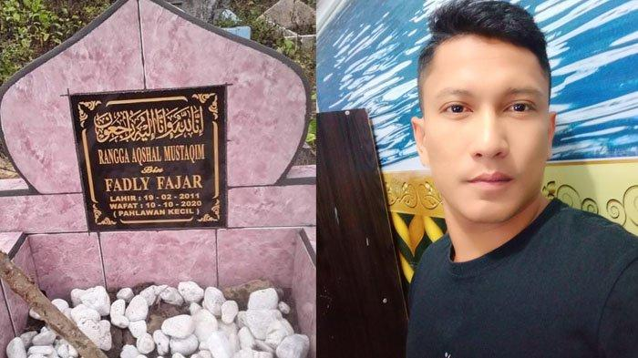 Datang ke Makam Rangga, Ayah Kandung Temukan Kejanggalan di Batu Nisan : Perlu Direvisi