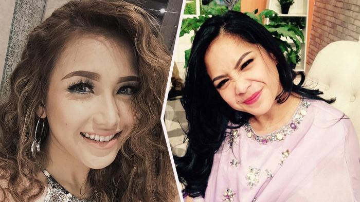 Hadir di Acara yang Sama, Ini Beda Kesibukan Nagita Slavina dan Ayu Ting Ting, Gigi Diserbu Fans !