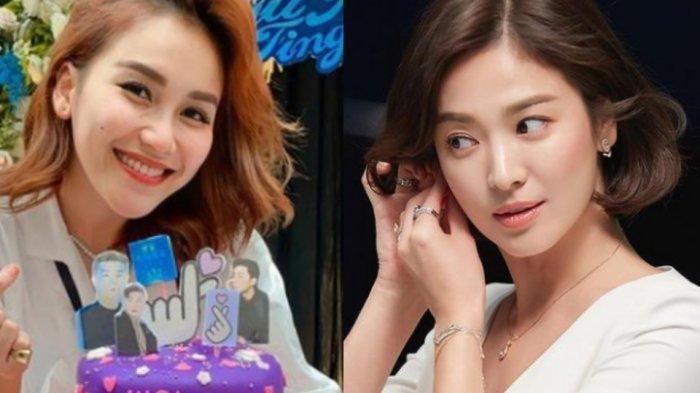 Ngaku Mirip Song Hye Kyo, Ayu Ting Ting Dihujat, Ayah Rozak Ingatkan Netizen : Tempat Neraka Jahanam